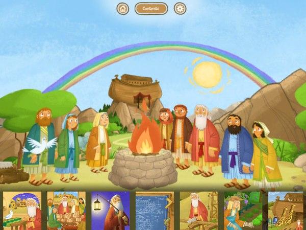 Noah's Ark Interactive Storybook.