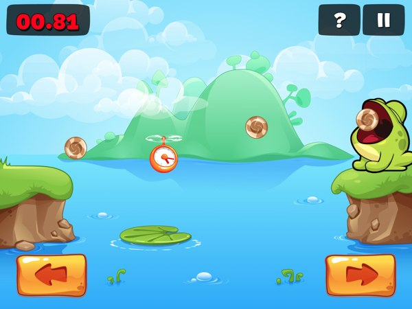 Tap The Frog 2 version 1.1 review - With Retina-ready graphics to make the game pop