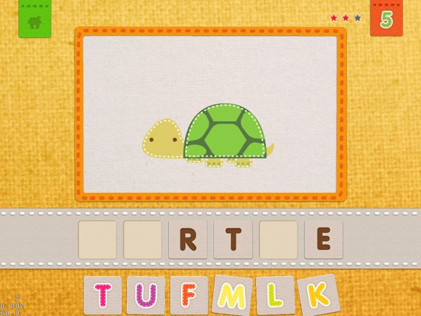 20 Recommended Apps for 1-Year-Olds -- Akzara, an app for learning alphabets and animals