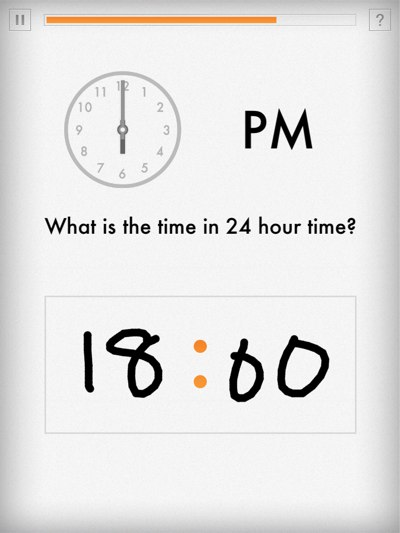 Write your answers directly on screen.
