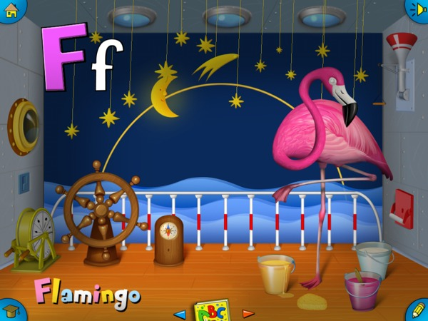 Goodnight ABC review - As the title suggests, the animals fall asleep after wishing your juniors a good night.