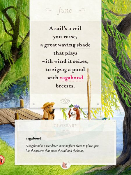 A words a bird brings short poems for kids in english and french the app includes a narrated glossary of terms to help readers understand the meaning of each stopboris Images
