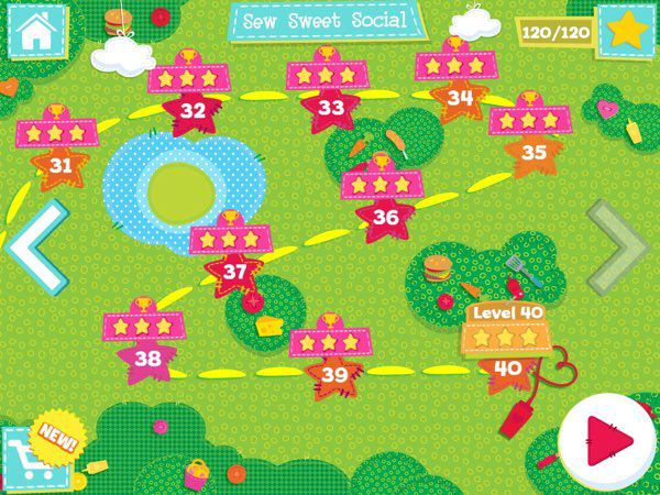 In Lalaloopsy Land, there are 40 levels spread across four chapters.