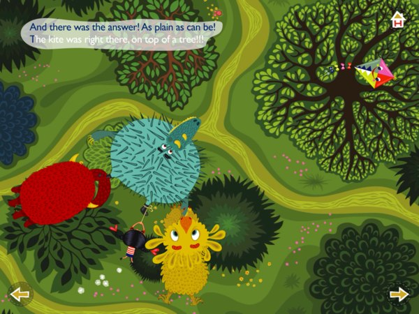 Flora's Forest review - Flora and her monster friends work together to find her kite