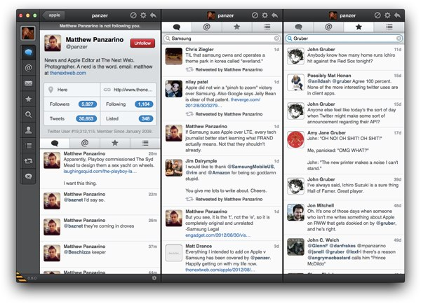 Tweetbot for Mac Beta review - Do local search within lists