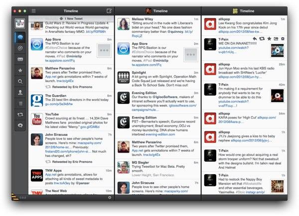 Tweetbot for Mac Beta review - The new Beta version adds the ability to create multiple lists