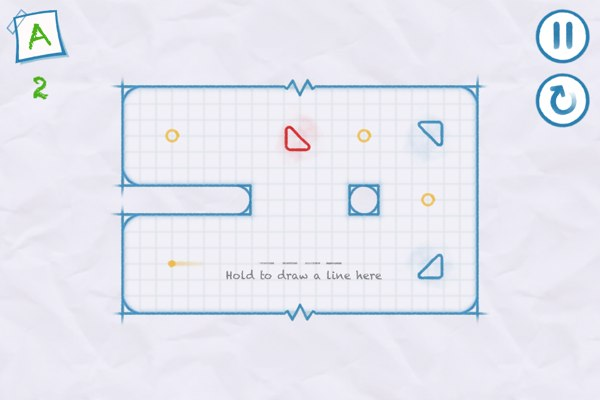 iPad app reviews for Juniors - Ichi is an elegant and challenging one-touch puzzler