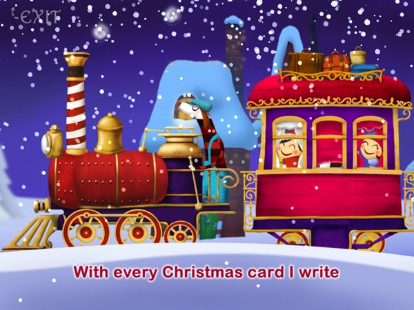 Christmas Song Machine HD review - Sing along to popular Christmas carols.