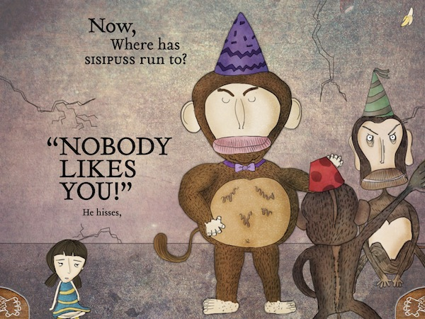 Monkeys in My Head Review - The monkeys in Pirouette's head tries to lower her self-esteem.