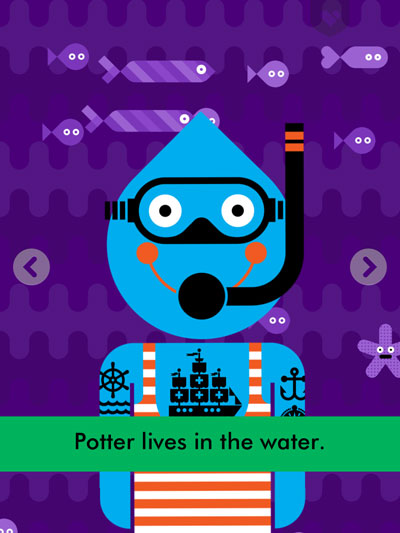 Potter's You-Thing is living underwater