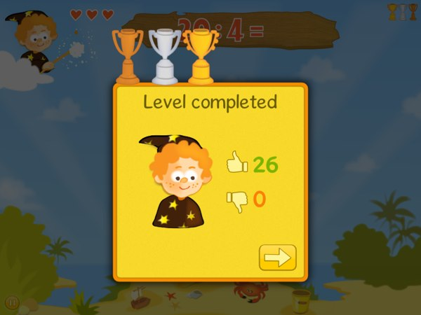 Bubbling Math review - Cute graphics and animations make learning math fun