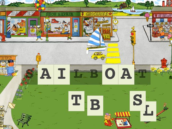 Spell the word 'sailboat'.