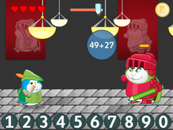 Bugsy in Math Kingdom review - The polished gameplay and bright graphics create a fun learning experience.