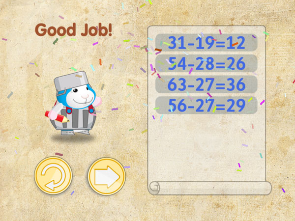 Bugsy in Math Kingdom review - Earn fun costumes and badges.