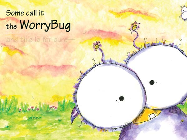 Wince - Don't Feed the Worry Bug review - Using clever metaphors, the app teaches juniors to stop worrying.