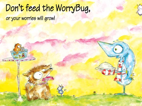 Wince - Don't Feed the Worry Bug review - It is important to manage your emotions.