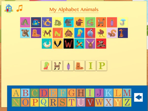 Image of: Starts Fun Activity Lets You Spell Out Your Names Using Animal Pictures Reevolve Clothing Alphabet Animals Slideandpeek Adventure Geeks With Juniors