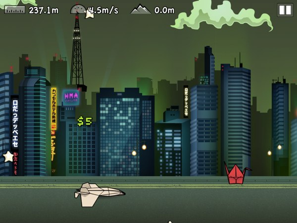 Flight! review - Flight! is a fun endless runner featuring paper planes