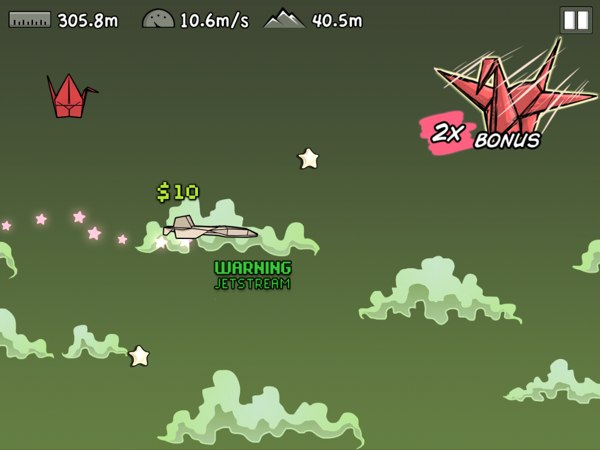 Flight! review - Collect power-ups to fly farther