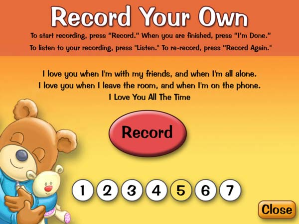 I Love You All The Time review - Record your own story.