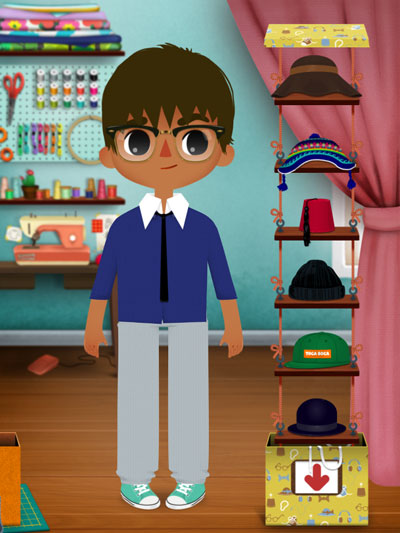 Toca Tailor, the latest addition to Toca Boca's impressive range of toy apps, lets your juniors play as a professional tailor.