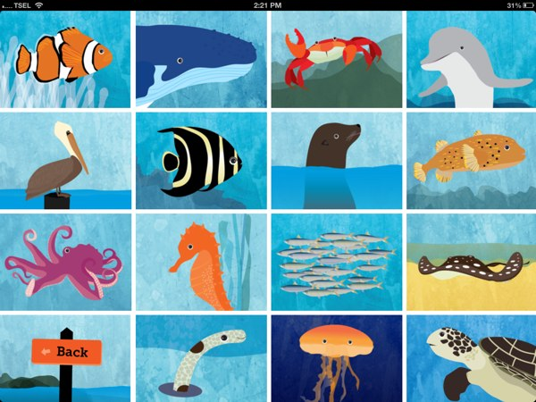 Peek-a-Zoo Underwater - Featuring fifteen unique sea creatures to entertain your juniors