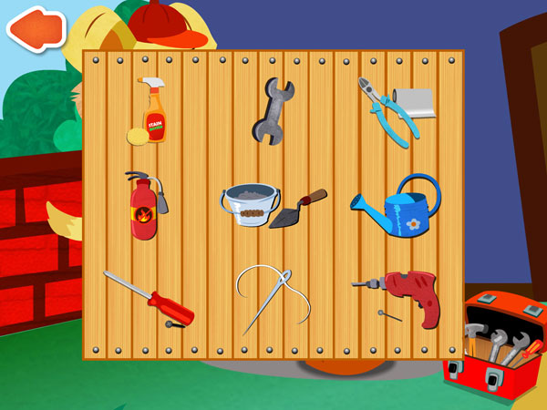 The toolbox contains nine different tools to choose from.