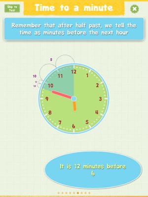 Tell Time app review - Tell Time is an excellent for teaching the concept of time to your juniors