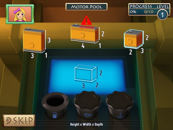 Use your math skills to solve mysteries in Mission Math 2: Peril at the Pyramids