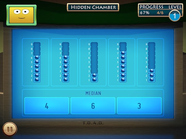 The app covers a vast range of math topics, including basic arithmetic, geometry, and statistics