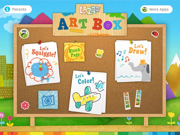 Fun drawing app Lazoo Art Box lets kids express their creativity through drawings