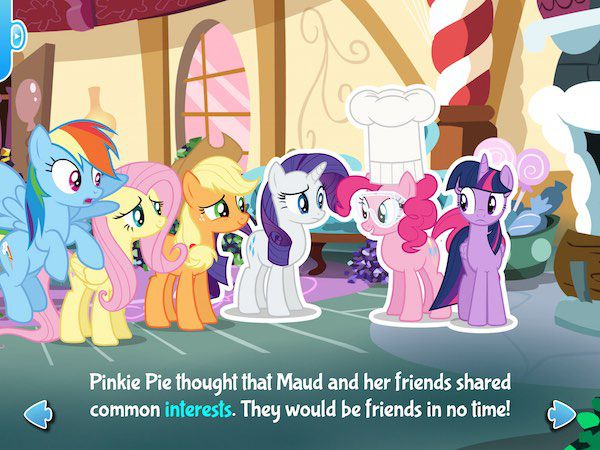 Pinkie Pie's friends are unsure if they can be best friends with Maud, who has different interests.