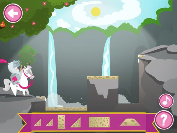 As the level progresses, the terrain becomes more complex