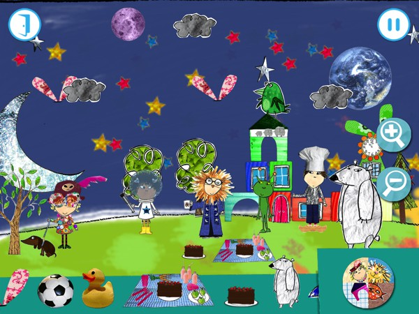 Help Charlie and Lola build their little town in this creative app for preschoolers