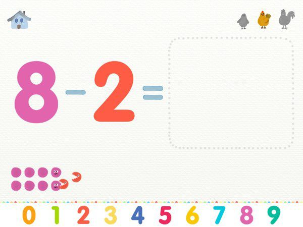 More or Less: Learn Addition and Subtraction offers a fun, intuitive, and memorable way to learn math concepts.