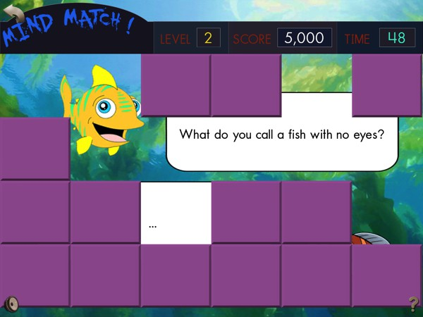 Complete the memory match game to uncover more fun facts and jokes