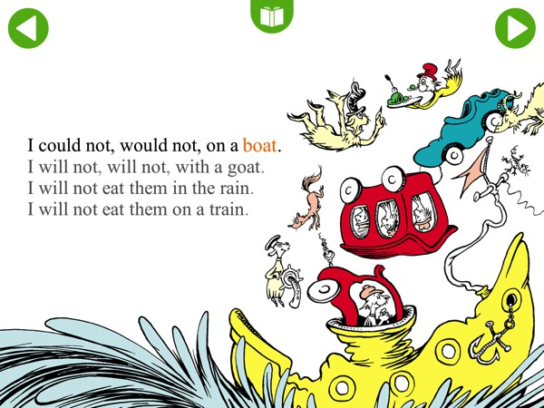 Best Apps For 4 Year Olds >> Green Eggs and Ham - Read & Learn Brings the Classic ...