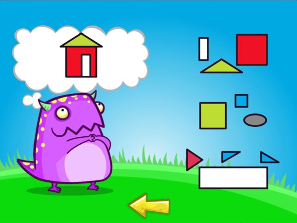 Feed Me challenges kids ages 5+ to practice their early numeracy, literacy, and arts skills with up to 600 different questions of varying topics and difficulty levels.