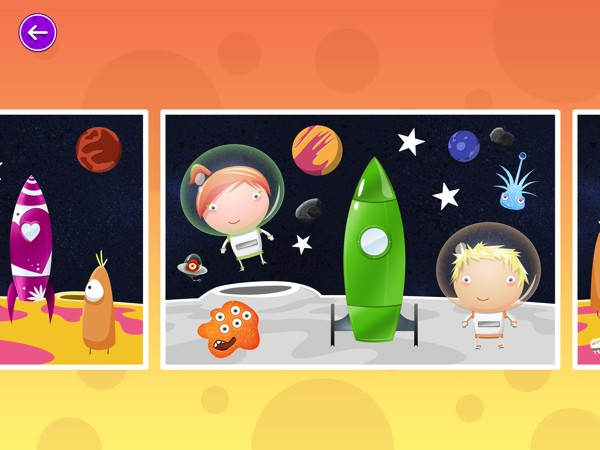 Choose from a diverse set of themes, including rockets, submarines, gardening, and farm animals