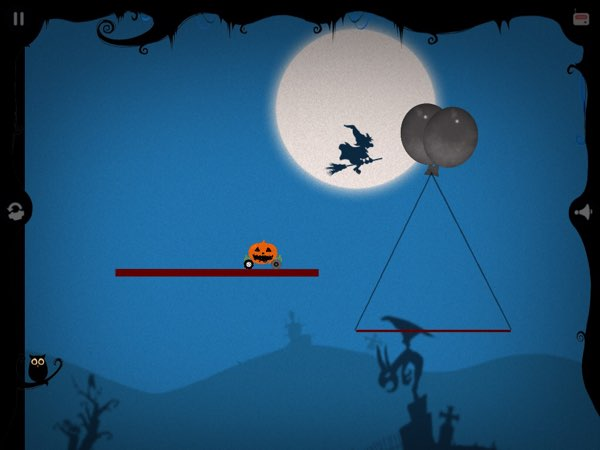 Labo Halloween Car has many elements of great platformer games -- including moving platforms and jumping between them.
