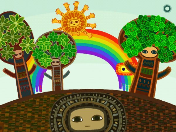 It's Spring Again tells an interactive story of how the four seasons change from one to another.