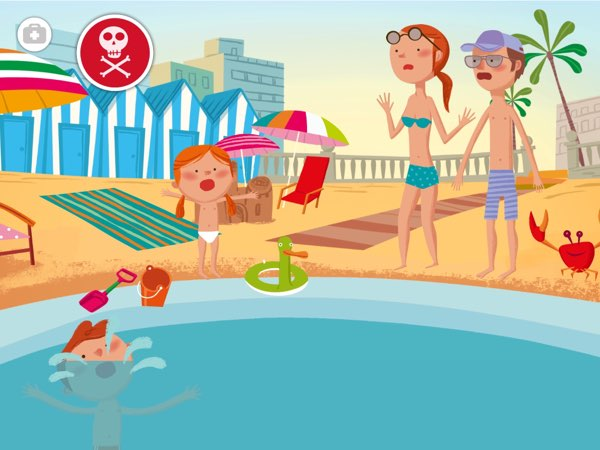 BEST APP TO TEACH FIRST AID TO SIX-YEAR-OLDS: RED CROSS presents common accident scenarios and tips on how to deal with them