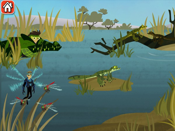 Join the Wild Kratts brothers as they take care of creatures in the African savannah