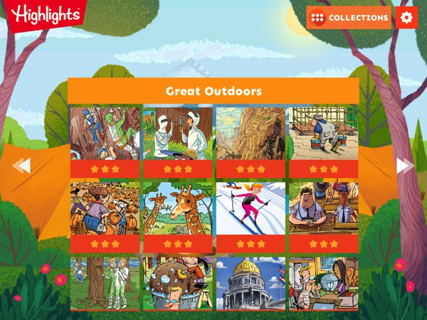 Discover fun themes like Great Outdoors, All Around Town, Fun with Water, and many more. New puzzle packs are delivered every month.