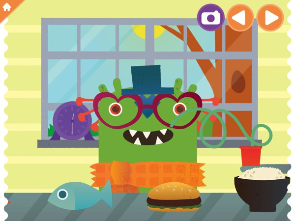 In Highlights Monster Day, kids learn about compassion and responsibility by taking care of a monster for a day