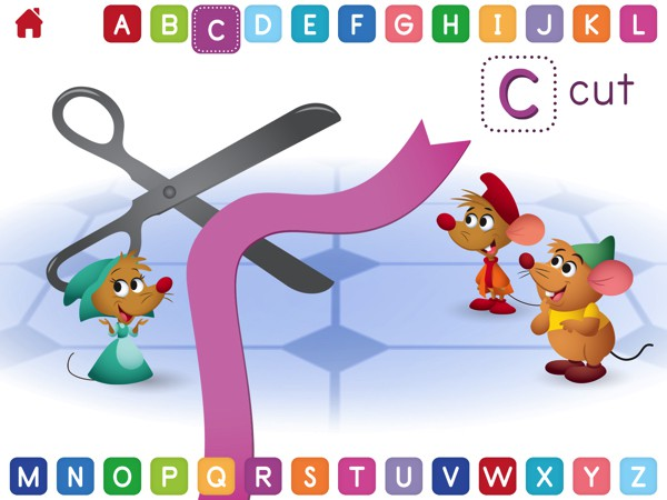 Disney Buddies: ABCs app lets kids explore the letters of the alphabet with the help of familiar Disney characters
