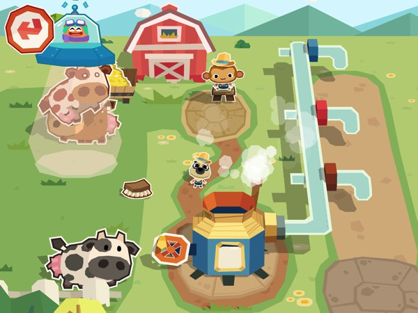 As ever with Dr. Panda apps, Dr. Panda Farm has lots of secrets and funny moments to discover
