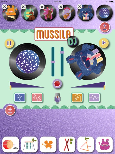 Kids can learn to be a DJ in Mussila DJ