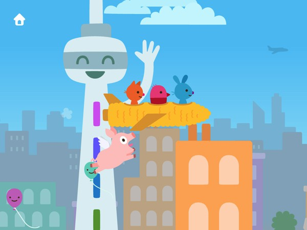 Sago Mini Planes is a magical, fun-filled airplane adventure for kids