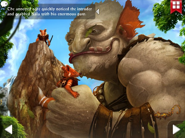 Fox Tales is an adventurous story filled with interactive features
